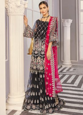 Bacca Embroidered Pakistani Gharara Suit