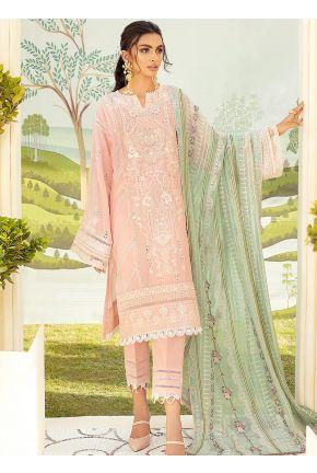 Mina Embroidered Pakistani Salwar Kameez