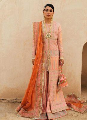 Kali Embroidered Pakistani Palazzo Suit