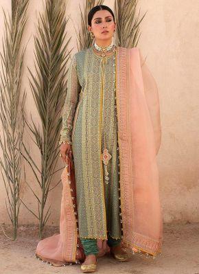 Sawera Embroidered Pakistani Salwar Kameez