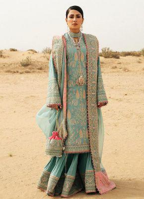 Saloni Embroidered Pakistani Lehenga Suit