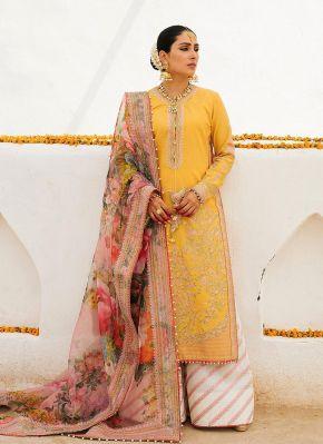 Sapehar Embroidered Pakistani Palazzo Suit
