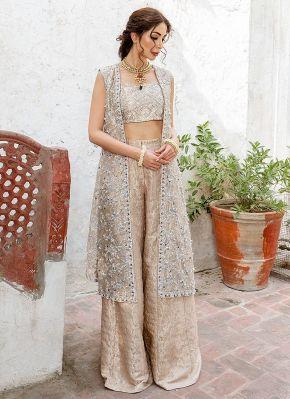 Zel Embroidered Pakistani Pant Suit Salwar