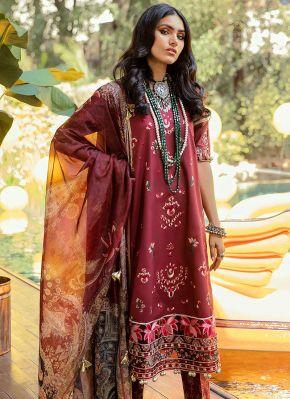 Dawat Embroidered Pakistani Salwar Kameez