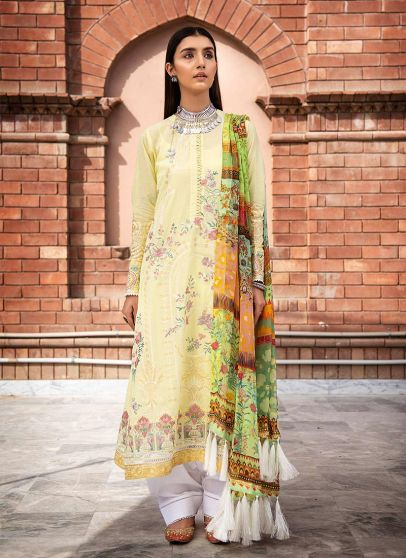 Lawn 21 Collection Embroidered Pakistani Salwar Kameez