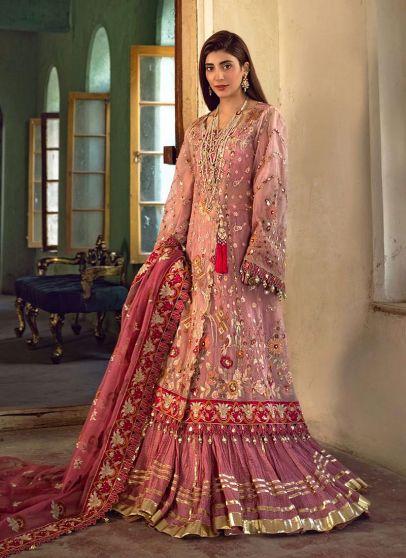 Layan Embroidered Pakistani Lehenga Suit