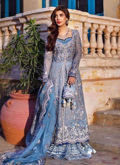 Elina Embroidered Pakistani Lehenga Suit