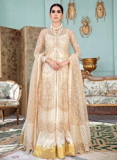 Whisper Embroidered Pakistani Lehenga Anarkali Suit