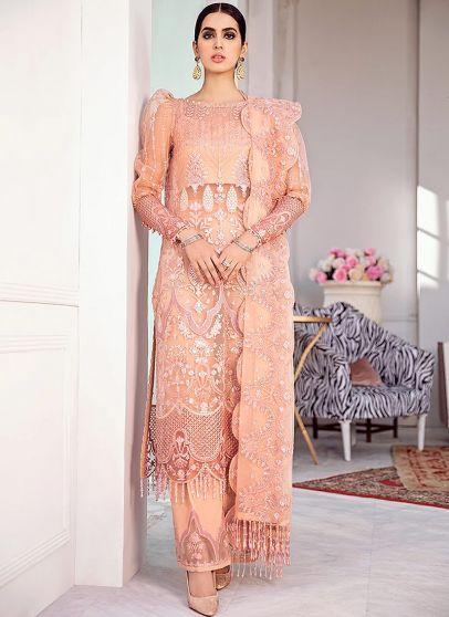 Viva Glam Embroidered Pakistani Salwar Kameez