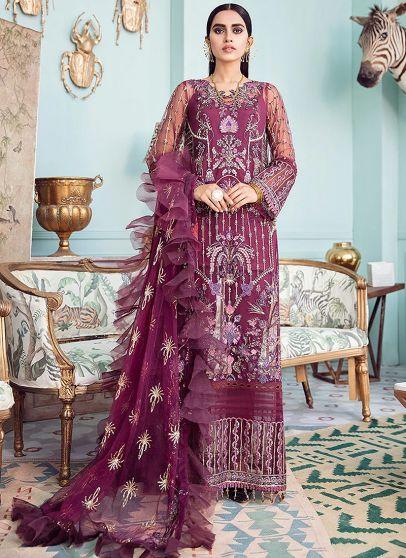 Lady Grace Embroidered Pakistani Salwar Kameez