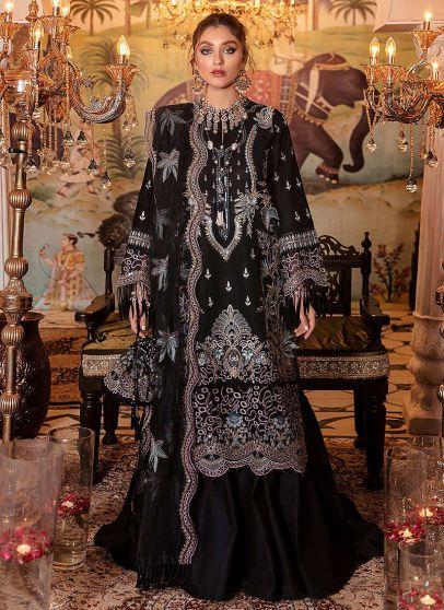 Zaiba Embroidered Pakistani Palazzo Suit