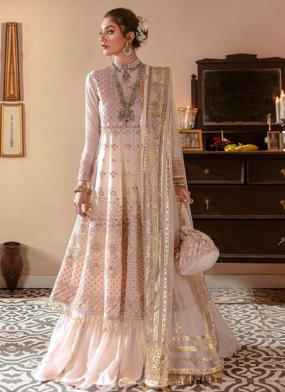 Hoor Embroidered Pakistani Sharara Suit