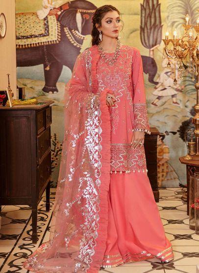 Shabnam Embroidered Pakistani Palazzo Suit