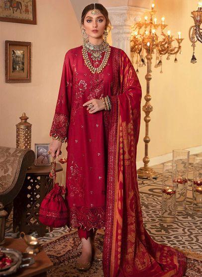 Dill Saaz Embroidered Pakistani Salwar Kameez