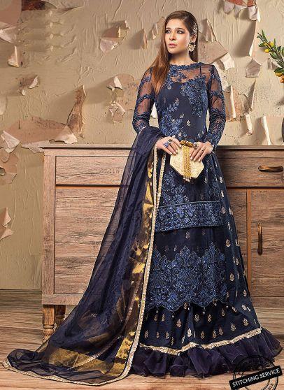 Limited Edition Embroidered Pakistani Lehenga Suit