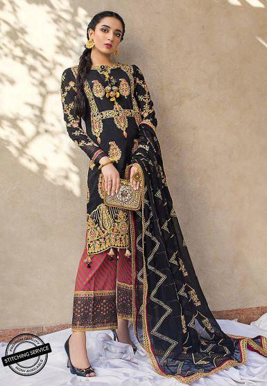 Luxury Lawn Collection Embroidered Pakistani Salwar Kameez
