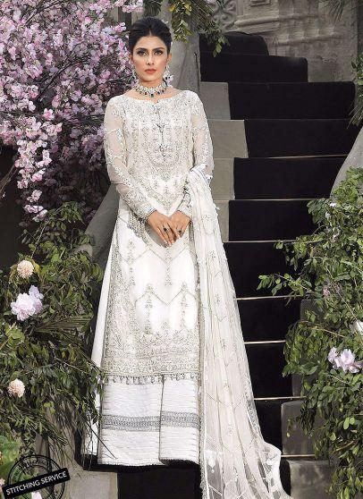 Mahsa Festive Embroidered Pakistani Palazzo Suit