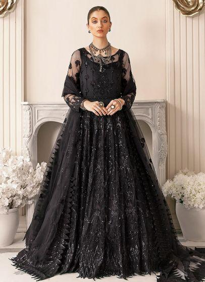 Vritra Embroidered Pakistani Anarkali Gown