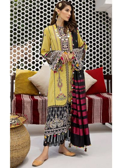 Neha Embroidered Pakistani Salwar Kameez