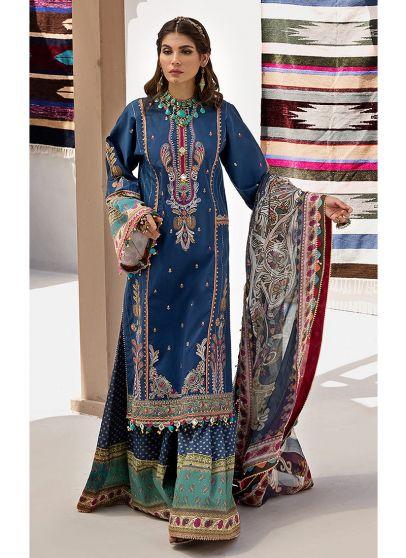 Nyla Embroidered Pakistani Salwar Kameez