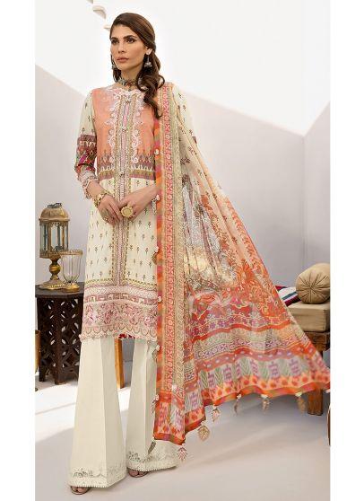 Raya Embroidered Pakistani Salwar Kameez