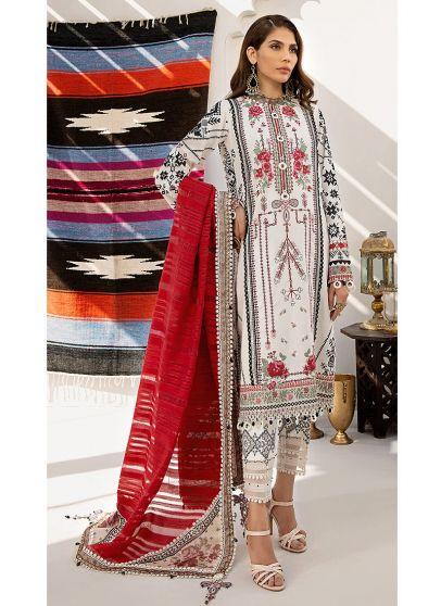 Amla Embroidered Pakistani Salwar Kameez