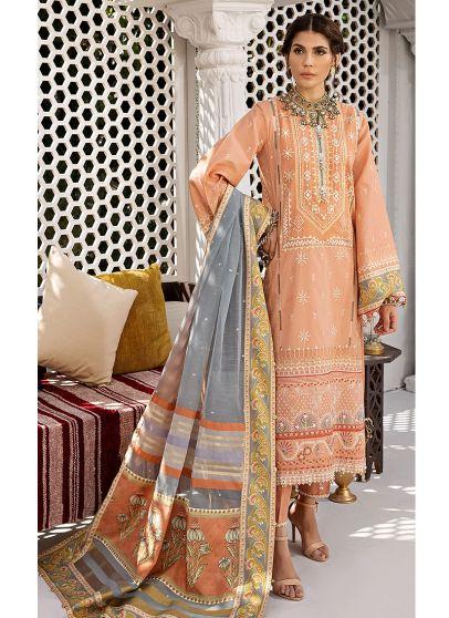 Ayla Embroidered Pakistani Salwar Kameez