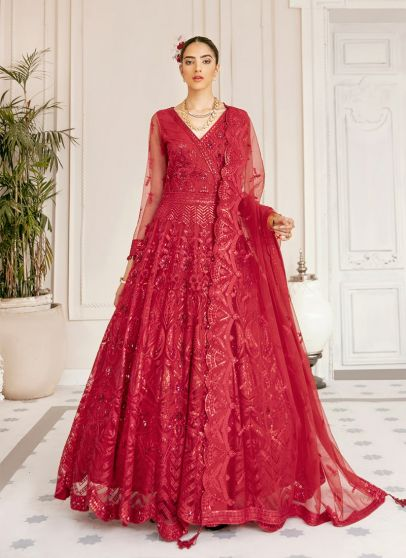 Altair Embroidered Pakistani Anarkali Gown