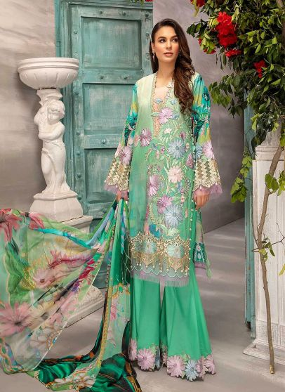 Graceful Appeals Embroidered Pakistani Palazzo Suit