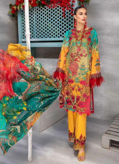 Deeply Glorious Embroidered Pakistani Salwar Kameez