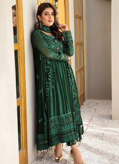 Sheesh Mahal Embroidered Pakistani Salwar Kameez