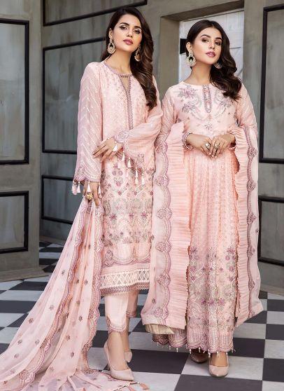 Nur Embroidered Pakistani Anarkali/ Salwar Kameez