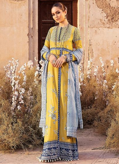 Romana Embroidered Pakistani Salwar Kameez