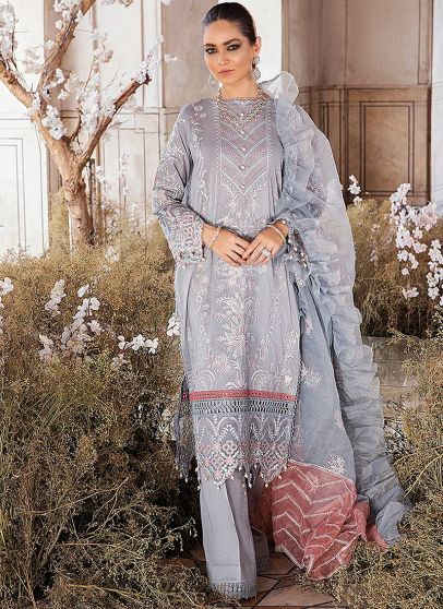 Sequoiat Embroidered Pakistani Salwar Kameez