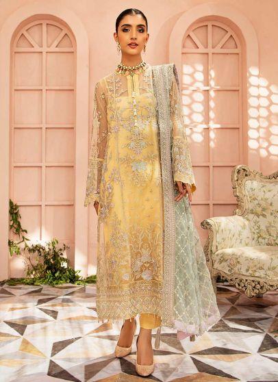 Mystique Collection Embroidered Pakistani Salwar Kameez