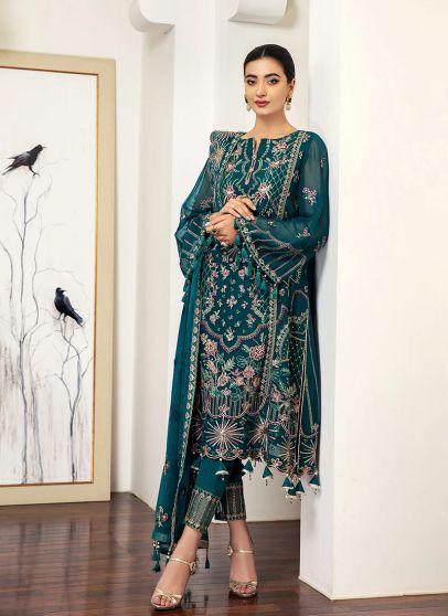 Mariana Embroidered Pakistani Salwar Kameez