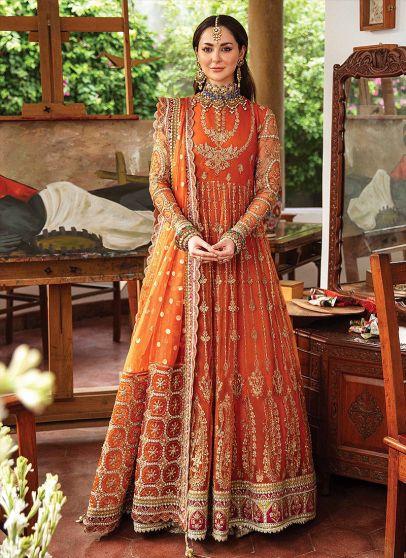 Wedding Formal Collection Embroidered Pakistani Anarkali