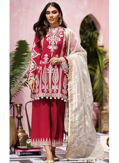 Surti Embroidered Pakistani Salwar Kameez