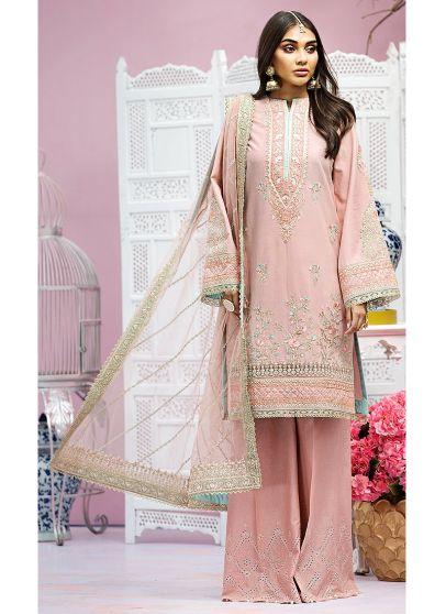 Myra Embroidered Pakistani Palazzo Suit