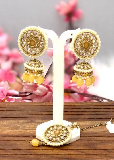 Tikka set with Earrings