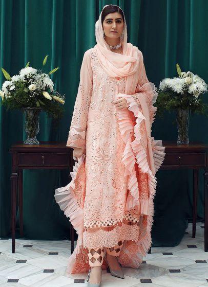 Aalia Embroidered Pakistani Salwar Kameez