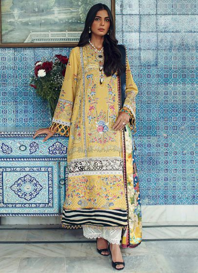 Narges Embroidered Pakistani Palazzo Suit