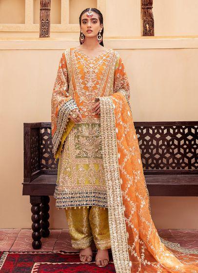 Funky Limlight Embroidered Pakistani Salwar Kameez