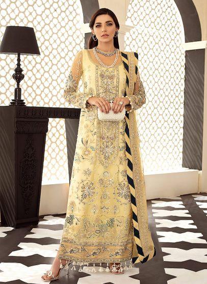Magnolia Embroidered Pakistani Salwar Kameez