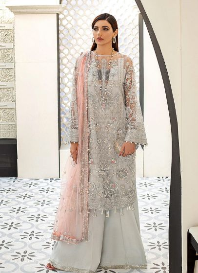 Amelie Embroidered Pakistani Palazzo Suit