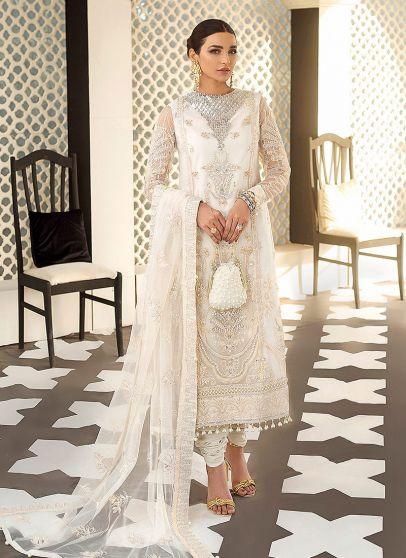 Zuria Embroidered Pakistani Salwar Kameez
