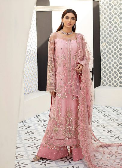 Roselyn Embroidered Pakistani Palazzo Suit