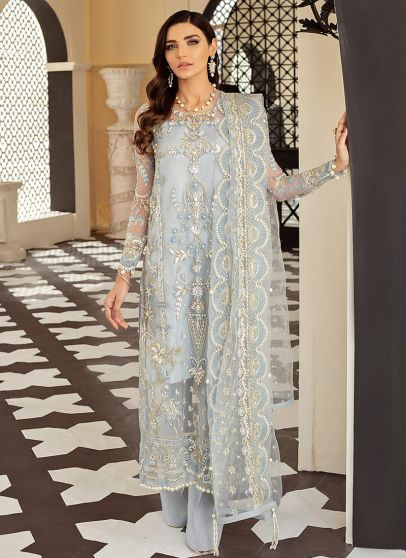 Layla Embroidered Pakistani Salwar Kameez
