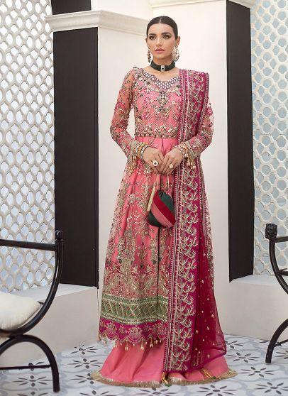 Sofia Embroidered Pakistani Palazzo Suit