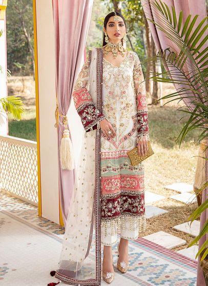 Mehrunnisa Embroidered Pakistani Salwar Kameez